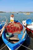 Porto Cesareo in Salento - Italië Stock Fotografie