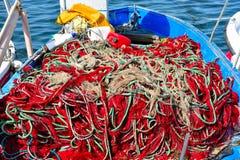 Porto Cesareo in Salento - Italië Stock Afbeeldingen
