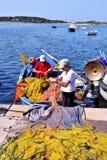 Porto Cesareo in Salento - Italië Stock Afbeelding
