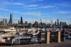 Porto in Chicago fotografie stock libere da diritti