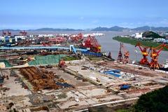 Porto chinês Imagem de Stock