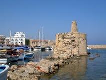 Porto Cipro di Kyrenia Fotografie Stock