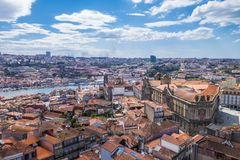 Porto. City of Porto from above, Portugal royalty free stock images