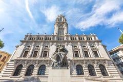 Porto City Hall Stock Images