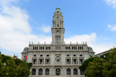 Porto City Hall, Porto, Portugal Royalty Free Stock Photography