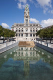 Porto City Hall in Portugal Stock Images