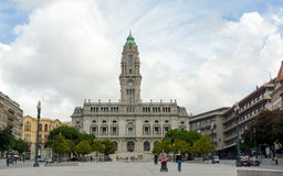 Porto city hall Royalty Free Stock Photos
