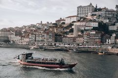 Porto City Panorama royalty free stock photography
