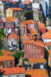 Porto city top view Potugal. Royalty Free Stock Photography