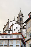 Porto city view with church, Portugal Stock Image
