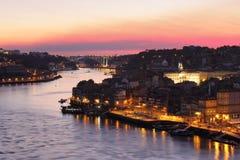 Porto cityscape and Arrabida bridge royalty free stock image