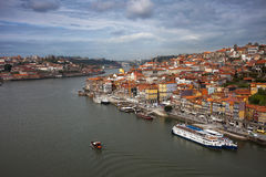 Porto Cityscape i Portugal Royaltyfri Fotografi
