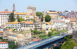 Porto Cityscape Portugal Royaltyfria Foton