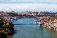 Porto Cityscape in Portugal Royalty Free Stock Photos