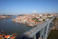 Porto Cityscape in Portugal Royalty Free Stock Photography