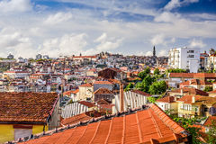 Porto Cityscape from Vila Nova de Gaia Royalty Free Stock Photos
