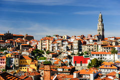Free Porto Cityscape With Clerigos Tower, Porto, Portugal Royalty Free Stock Photography - 35208067