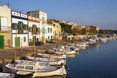 Porto Colom Royalty Free Stock Photography