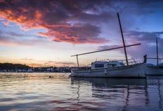 porto colom bay in majorca Royalty Free Stock Photo