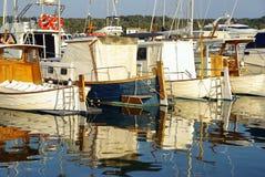 Porto Colom Boten Royalty-vrije Stock Foto