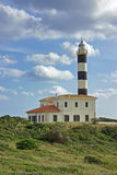 Porto Colom Lighthouse. In the east side of the island of Mallorca (Spain Royalty Free Stock Images