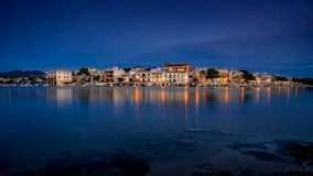 Porto Colom, mallorca, spain royalty free stock image