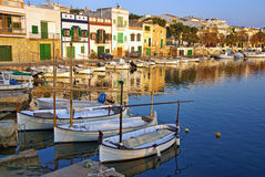Porto Colom village Royalty Free Stock Photo