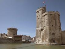Porto com castelo velho Foto de Stock
