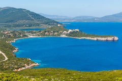 Porto Conte bay on a sunny day Stock Images