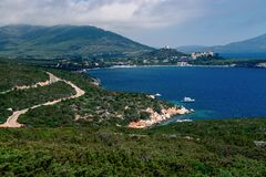 Porto Conte Regional Natural Park. Italian coast Stock Images