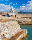 Porto Cornualha de Charlestown Foto de Stock