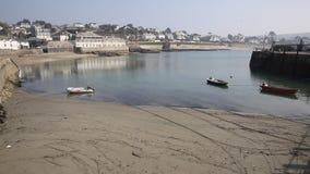 Porto Cornualha Inglaterra do St Mawes, Reino Unido filme