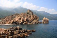 Porto Corse Frankreich lizenzfreie stockfotografie