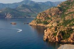 Porto, Corsica Royalty Free Stock Photo