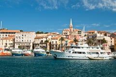 Porto corso Immagini Stock Libere da Diritti