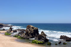 Porto Covo beach, Alentejo, Portugal. Porto Covo beach at Alentejo, Portugal Royalty Free Stock Photos
