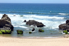 Porto Covo beach, Alentejo, Portugal Royalty Free Stock Photography
