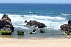 Porto Covo beach, Alentejo, Portugal. Porto Covo beach at Alentejo, Portugal Royalty Free Stock Photography