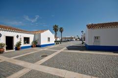 Porto Covo dorp Royalty-vrije Stock Foto