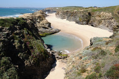 PORTO COVO. Portugal Stock Photography