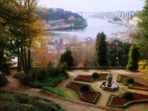 Porto Cristal slott Arkivfoton