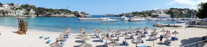 Porto Cristo panorama Stock Photography