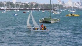 Porto da baía de Okahu Fotos de Stock Royalty Free
