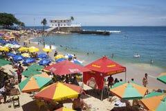 Porto DA Barra Beach Salvador Bahia Brazil Royalty-vrije Stock Foto