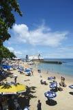 Porto da Barra Beach Salvador Bahia Brazil Stock Photography