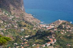 Porto DA Cruz auf der Nordküste von Madeira Stockfotografie