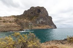 Porto DA Cruz auf der Nordküste von Madeira Stockbilder