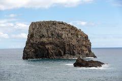 Porto DA Cruz auf der Nordküste von Madeira Lizenzfreies Stockbild
