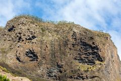 Porto DA Cruz auf der Nordküste von Madeira Stockfotos