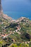 Porto DA Cruz auf der Nordküste von Madeira Lizenzfreies Stockfoto
